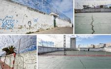 Las pistas de Víctor en Badajoz siguen abandonadas