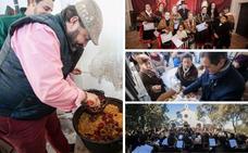 El Paseo Alto desafía al frío y disfruta de la romería de los Santos Mártires