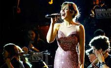 Gisela canta este domingo en el López de Ayala con la Banda Municipal