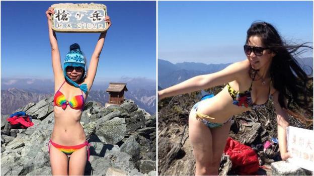 CongeladaHoy Muere Del La Bikini Alpinista SpqzVUGLM
