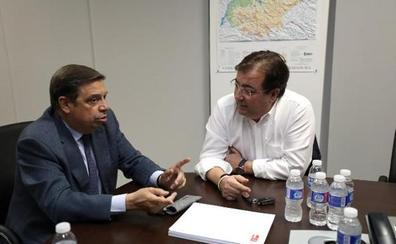 Planas afirma en Agroexpo que la declaración de interés nacional del regadío de Barros «está muy cerca»