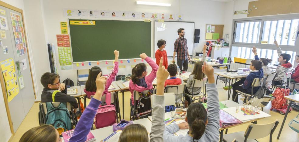 Educación selecciona 50 centros para luchar contra el abandono escolar