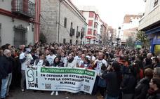 4.000 personas piden la continuidad de la central nuclear de Almaraz