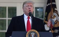 Trump se rinde ante los demócratas