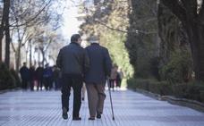 La pensión media de jubilación sube un 5,5 % en enero hasta los 935 euros