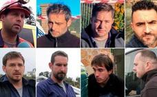 Estos son los ocho mineros que rescataron a Julen