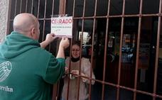 Más de 300 establecimientos cerraron en Navalmoral en apoyo a la central nuclear de Almaraz