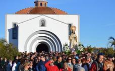 La Virgen de la Aurora ya está en Villanueva para presidir la festividad de 'Las Candelas'