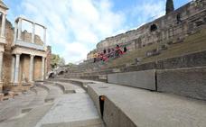 El graderío de la cávea ima del Teatro Romano de Mérida se sustituirá de forma progresiva
