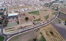 Retoman las obras para acabar el gran parque verde de Villanueva
