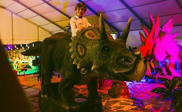 La exposición Dinosaurs Tour ofrece una treintena de piezas inéditas a tamaño real