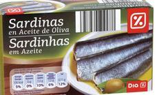 Dia retira casi 25.000 latas de sardinas por posible defecto de esterilización