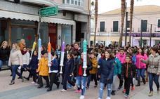 Los alumnos de Villanueva ponen la 'vacuna del buen trato'