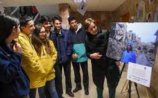 El colegio de los maristas de Badajoz muestra la realidad de Siria en una exposición
