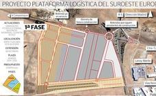 Las obras de la terminal ferroviaria de la Plataforma Logística de Badajoz se licitarán en abril