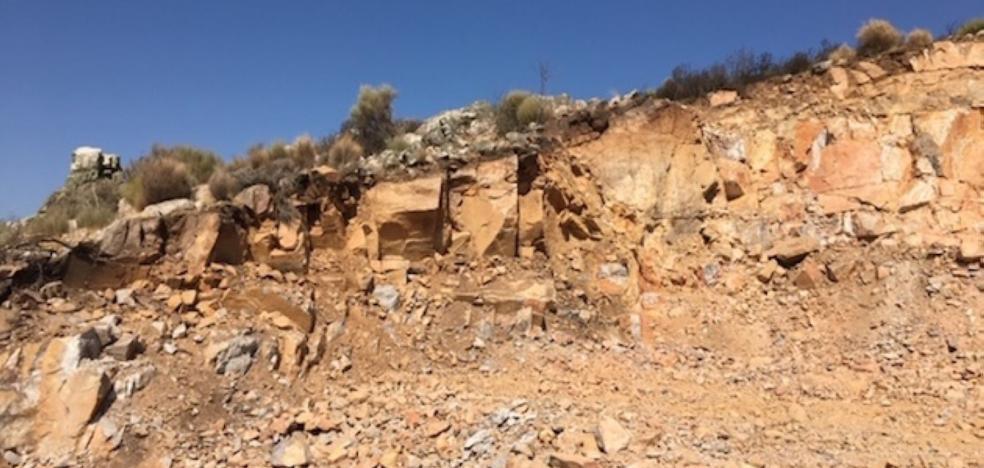 Cosentino explota la segunda cantera de cuarzo en su mina de Castañar de Ibor