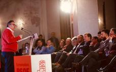 Vara destaca al candidato a la alcaldía como «lo mejor que el Psoe tiene» en Almendralejo