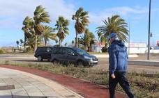 El viento deja rachas de 79 km/hora en Jerez y 73 en Peraleda del Zaucejo