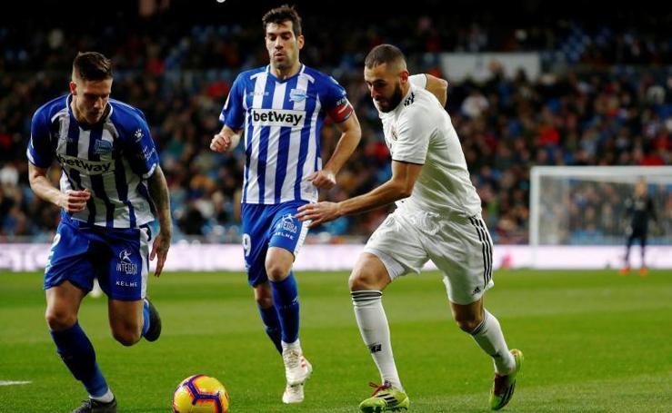 Las mejores imágenes del Real Madrid-Alavés