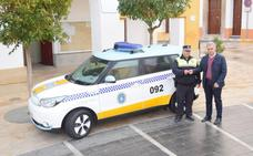 La Policía Local de Campanario estrena un nuevo coche eléctrico