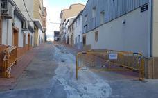 Renuevan las redes de saneamientos de varias calles de Jaraíz