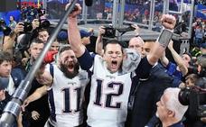 Los Patriots y Tom Brady se convierten en leyendas tras ganar su sexta Super Bowl