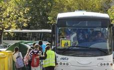 La DGT intensificará esta semana el control del transporte escolar