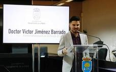 Víctor Jiménez, premio extraordinario de doctorado por la Universidad de Extremadura