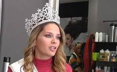Miss Málaga, que sufrió cáncer con 3 años, dona su pelo