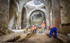 Las obras vuelven a la iglesia de Santa Catalina de Badajoz