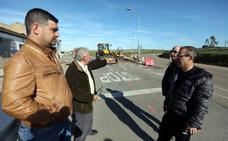Vecinos de San Andrés rechazan una rotonda en la obra de la carretera con el centro de Mérida