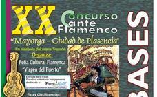 El concurso flamenco Mayorga de Plasencia repartirá 6.750 euros en premios
