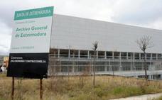 Cultura destinará 840.850 euros a terminar las obras y equipar el Archivo Regional en Mérida