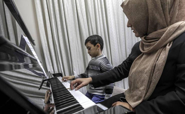 Conservatorio Nacional de Música Edward Said en Gaza