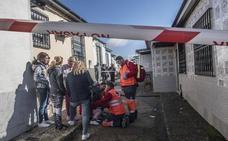 Tres mujeres atendidas tras un incendio en una vivienda de Badajoz