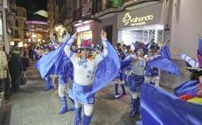 El desfile de Carnaval de Cáceres, obligado a cambiar de recorrido el día 2
