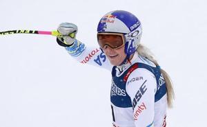 Lindsey Vonn, la estadounidense 'vikinga' que se despide en Suecia
