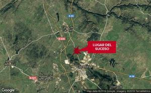 Un ciclista sufre policontusiones en una caída en Cáceres