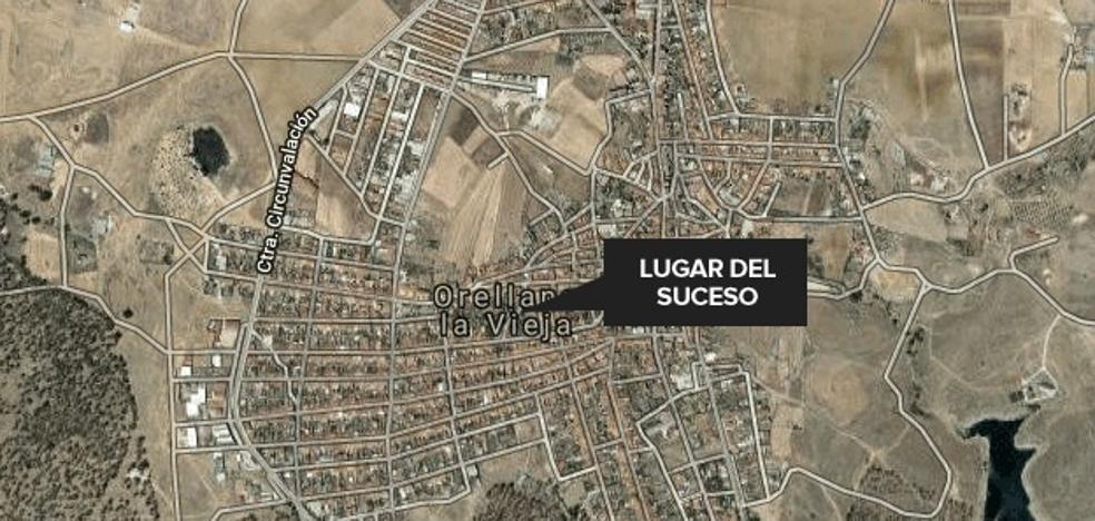 Un segundo incendio en Orellana la Vieja durante este fin de semana quema otra vivienda