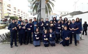 La última acción de Unicef en Don Benito une a más de 2.400 escolares