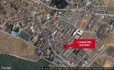 Un trabajador herido grave tras caer de una altura de tres metros en Los Santos de Maimona