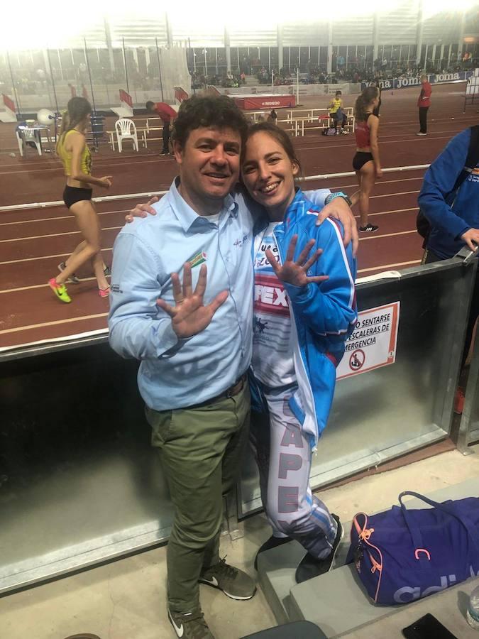 Lucía Sánchez, quinta promesa española en triple salto