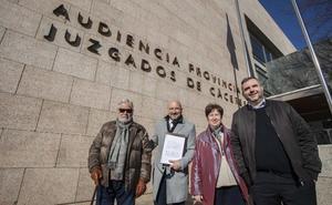 El pasaje de Cáceres llega a los tribunales