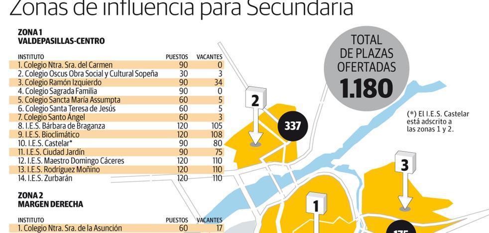 Educación habilitará un aula extra en el IES Bioclimático y se plantea otra en el Bárbara de Badajoz