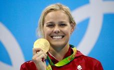 Pernille Blume, oro en Río 2016, operada del corazón