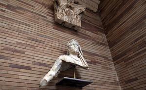 Los visitantes del Museo Romano podrán fotografiarse con piezas por San Valentín