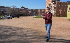 Cabezas pide un parque para el barrio de San Fernando de Badajoz proyectado hace 17 años
