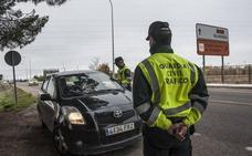Tráfico anula los controles aleatorios de droga en las carreteras extremeñas