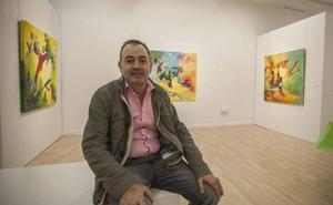 El artista extremeño Jesús Pérez Hornero expone en Pintores 10