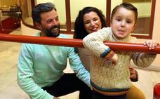 «A nuestro hijo Zeus le operaron cuando tenía cuatro meses a corazón abierto»